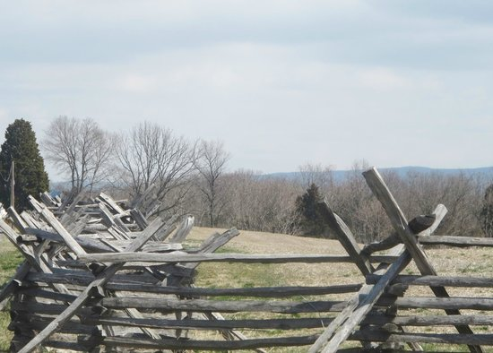 Sharpsburg, MD: split rail fence