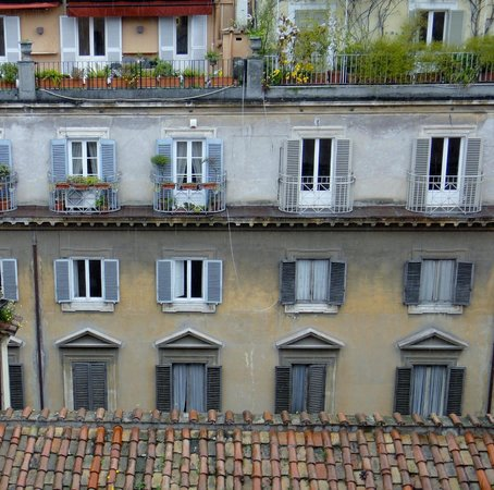 Hotel Indigo Rome - St. George: View from Penthouse Suite
