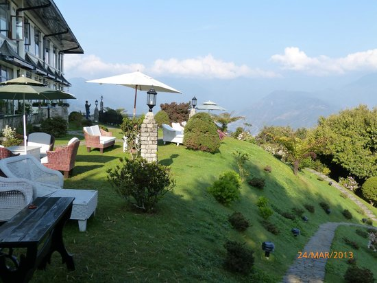 Driving From Rimbick To Pelling India