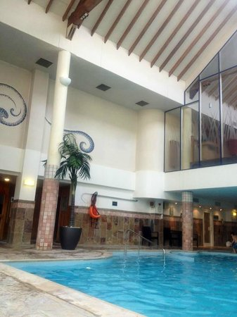 Leisure Spa Swimming Pool Area Picture Of Dalmahoy A Marriott Hotel Country Club
