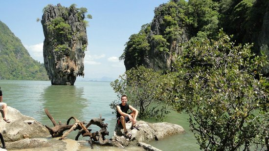 Phang Nga Province, Thailand: James Bond island, Thailand.