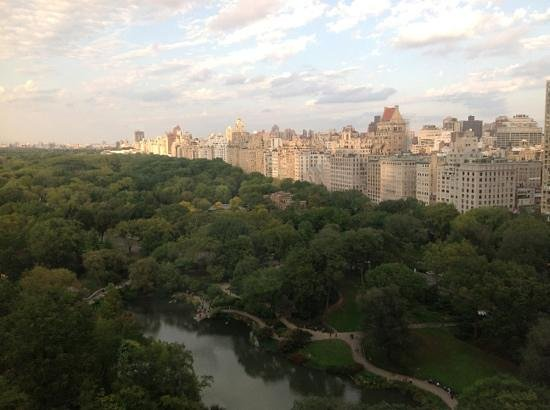 Park Lane Hotel: View From Our Room