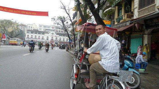 Hilton Hanoi Opera: bike ride 3