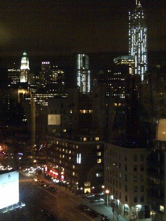 Soho Grand Hotel: view from our 12th floor corner king room
