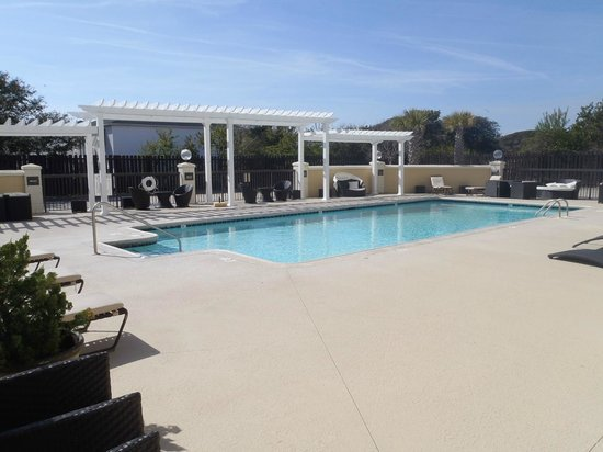 Pine Knoll Shores, Kuzey Carolina: Pool Area