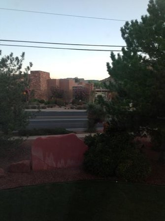 Sedona Real Inn and Suites: vista desde la habitacion
