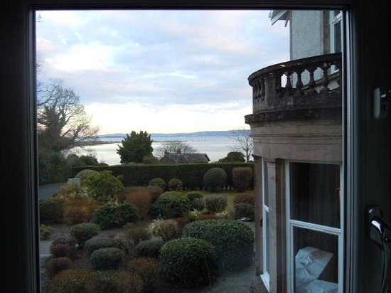 Rhu, UK: view of gardens