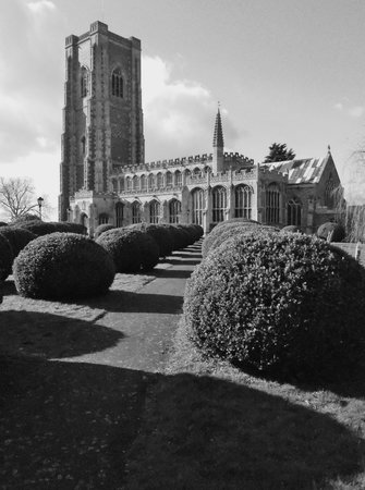 East Anglia, UK: Lavenham Church #1