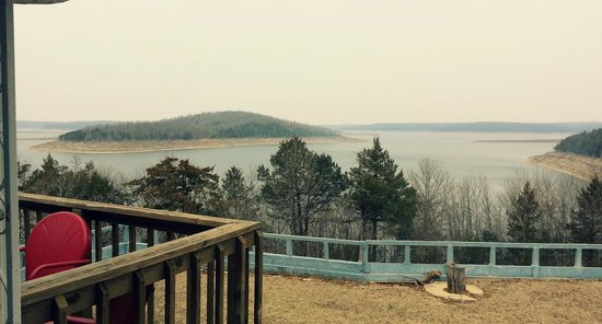 Bull Shoals, AR: Lake view