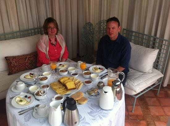 Riad Kniza: Delicious breakfast!
