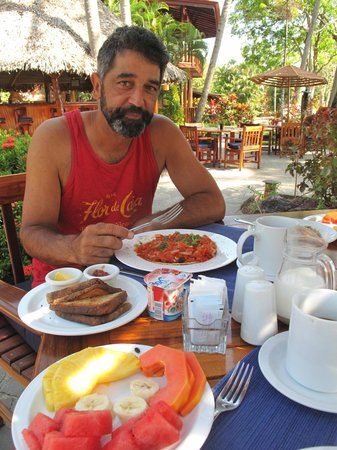 Tambor Tropical Beach Resort: Delicious breakfast