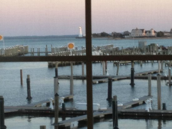 ‪‪Saybrook Point Inn & Spa‬: View from room 223aq‬