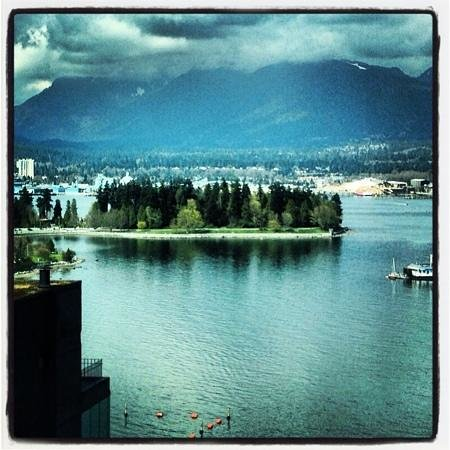 Coast Coal Harbour Hotel: view from 20th floor