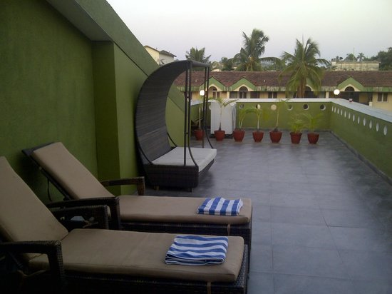 10 Calangute: Room terrace