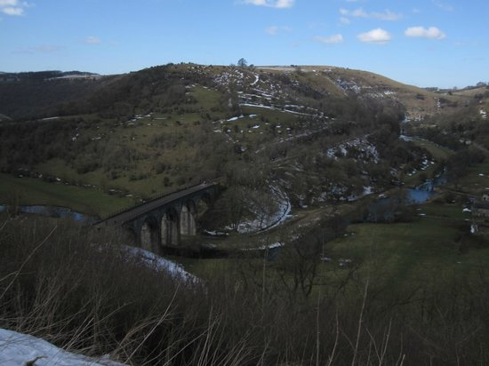 Rowsley, UK: On the Monsal Trail near Bakewell