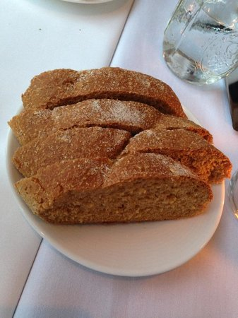 Needham, MA: Fresh out of the oven... molasses bread... bliss!