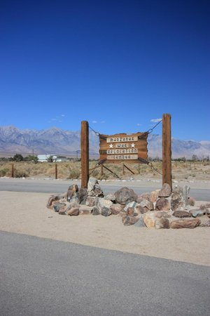 Independence, Californien: Manzanar National Historic Site Entrance