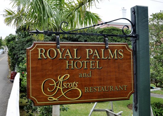 Pembroke, Islas Bermudas: In the Royal Palms Hotel