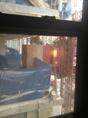 Do you like views of construction- from Hotel Felix?
