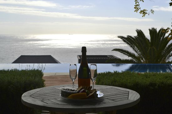 Compass House: bubbly with a view...