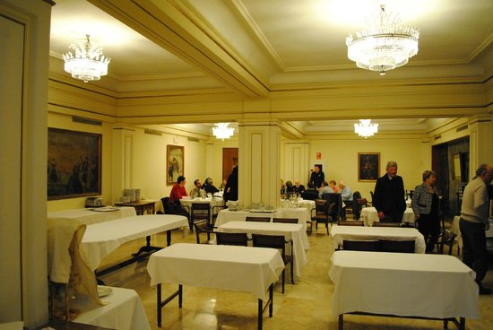 Principe Pio Hotel: la sala ristorante