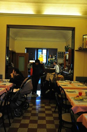 Hotel Casci: Place for dining