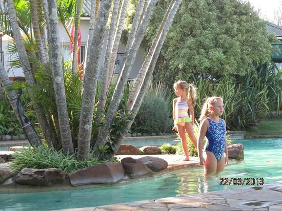 Trennerys Hotel: Kids enjoying the pool