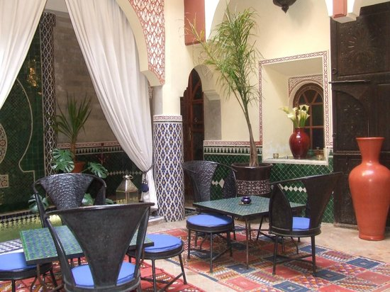 Riad Assalam: le patio