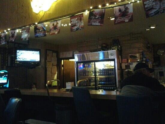 Blackfoot, ID: the bar area