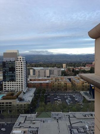 The Fairmont San Jose: The view from my room.