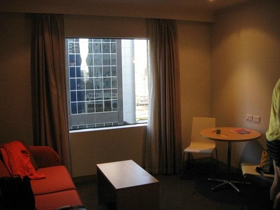 Travelodge Southbank Melbourne: downtown view