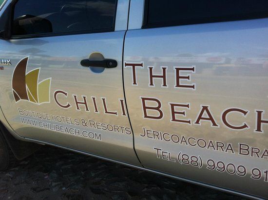 The Chili Beach Boutique Hotel & Resort: Transfer