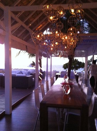 The Chili Beach Boutique Hotel & Resort: Restaurante