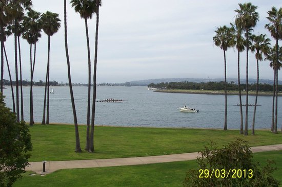 The Dana on Mission Bay: View from room