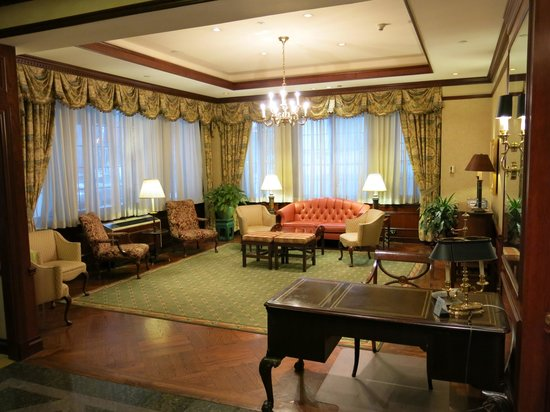 The Wall Street Inn: Hotel Lobby