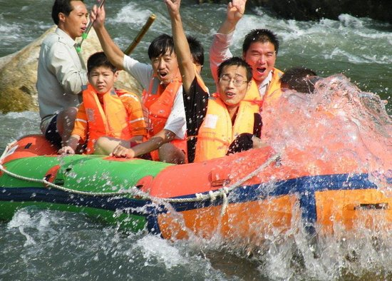 Liuxihe Canyon Rafting