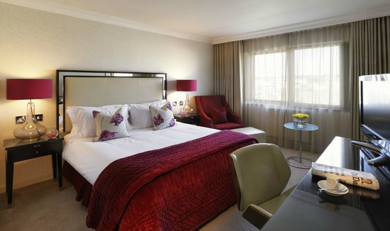The Bristol Hotel: Deluxe bedroom