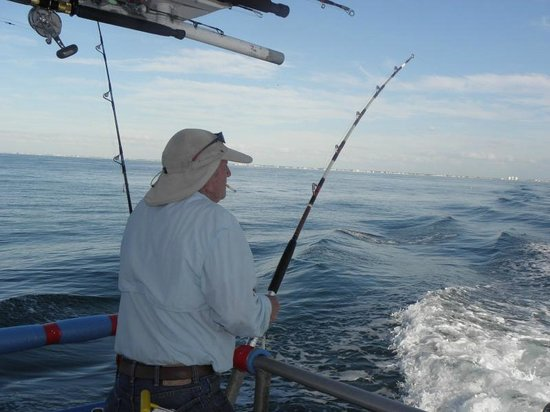 Trolling is popular on all our trips for the pelagics we for Hubbards marina fishing
