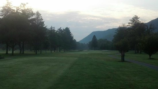 Maggie Valley Club & Resort: View from right outside condo's at Maggie Valley Club!