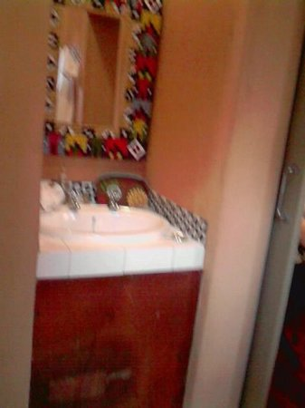 Ginnegaap Guesthouse: Bathroom
