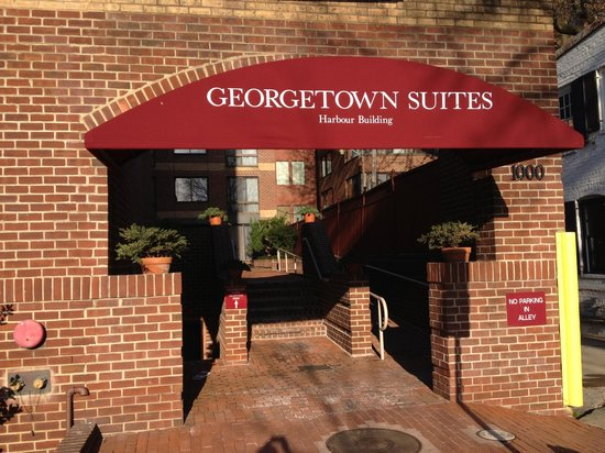 Georgetown Suites: The Harbour Building Front