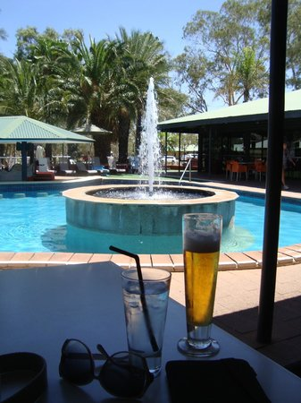 Chifley Alice Springs Resort: Lovely pool area
