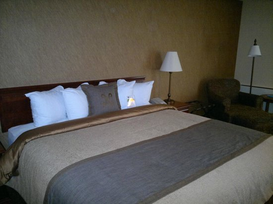 BEST WESTERN PLUS The Normandy Inn & Suites: King size bed