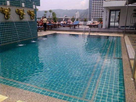 Phil Boutique Hotel: Pool for use at neighboring property