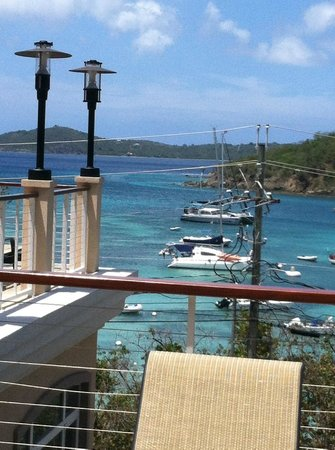 Grande Bay Resort: View of Cruz Bay, St. John