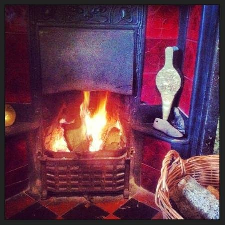Greystoke, UK: Keep warm by the fire #springholidays
