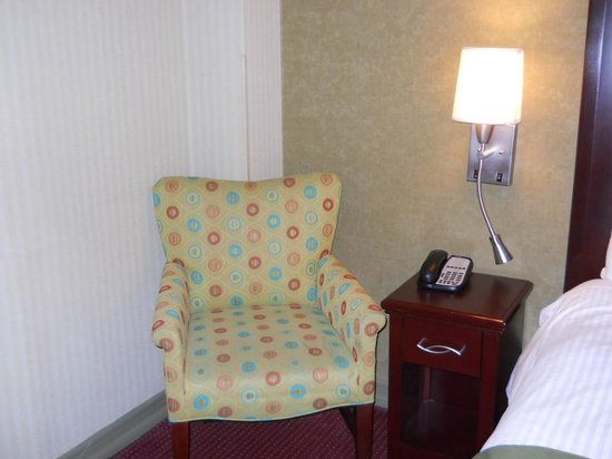 The Hotel at Times Square: Left side of bedroom