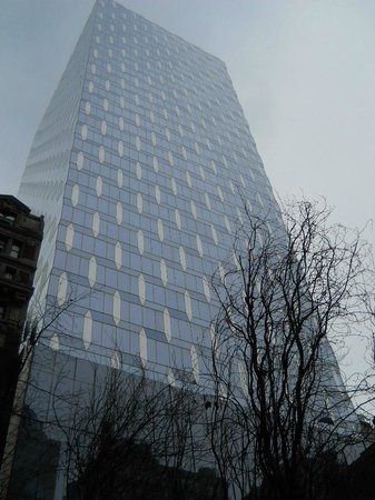 The Hotel at Times Square: Building next door