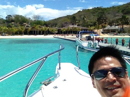 Two Seasons Coron Island Resort: Arriving at two seasons island resort coron palawan