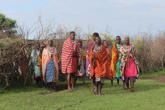 Kicheche Mara Camp: Massai Village